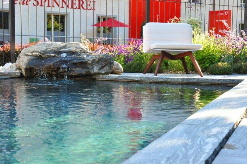 Swimming-Pool mit Feinsteinzeug-Auskleidung