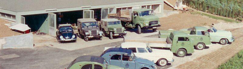 1976: Nach dem plötzlichen Tod von Walter Egli (sen.) im Mai 1976 übernahmen die Söhne Walter (jun.) und Ueli die Firmenleitung