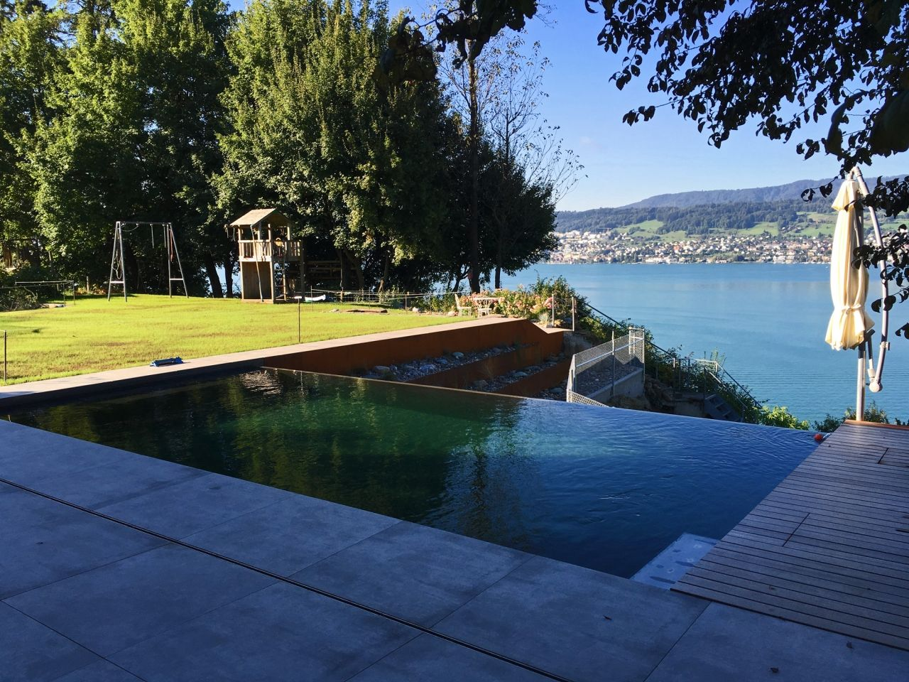 Swimming pools egli jona ag g rtner rapperswil jona - Was ist ein infinity pool ...