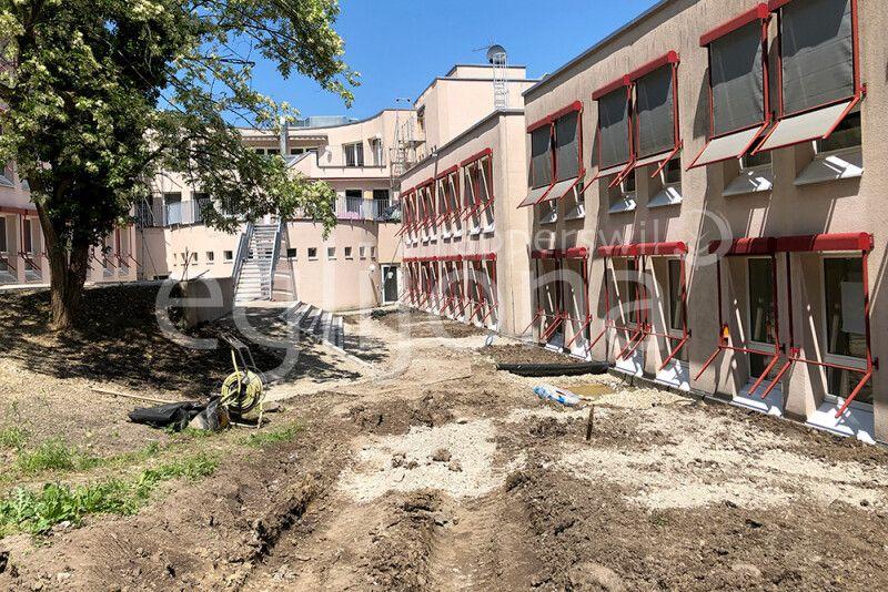 Umgebungsgestaltung Kantonsschule Wädenswil