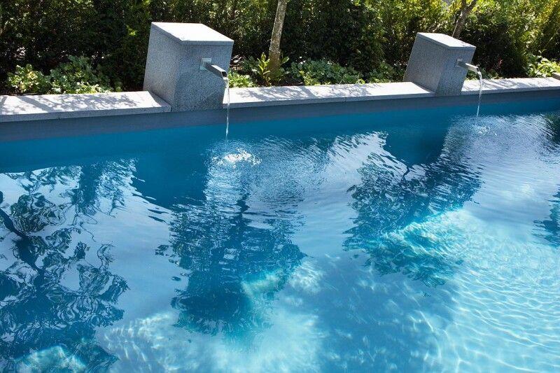Naturpool Swimming-Pool mit Folie