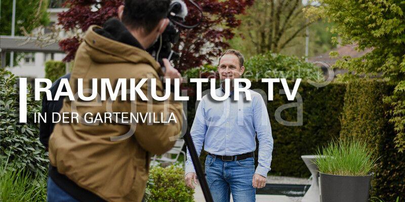 egli jona und die Gartenvilla bei Raumkultur TV