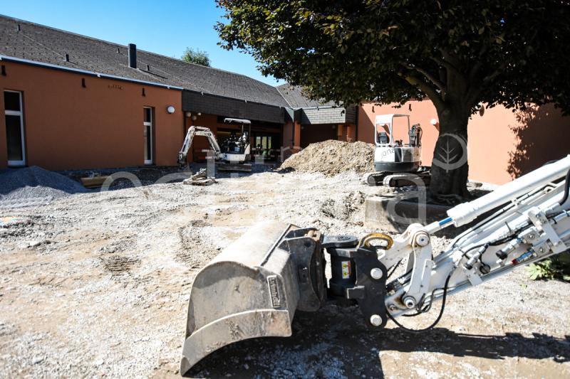 Neugestaltung Vorplatz beim Evangelischem Kirchenzentrum, Jona