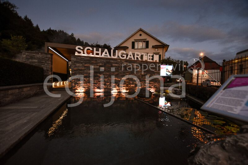 Fotogalerie: Neue Gartenbeleuchtung in unserem Schaugarten
