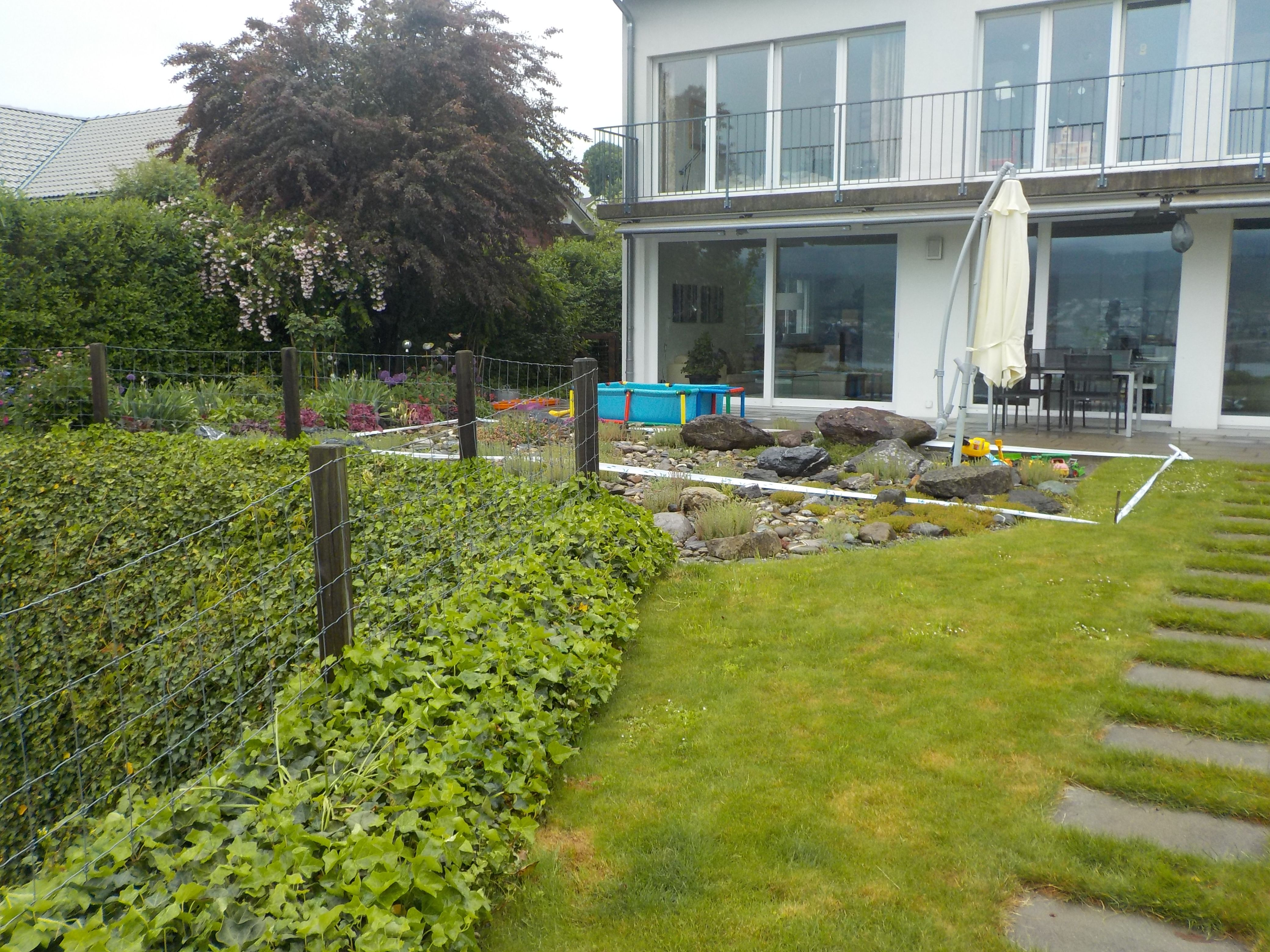 Gartengestaltung reihenhaus pool for Gartengestaltung reihenhaus