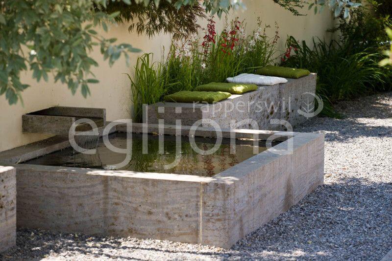 Wasserspiel Brunnen kleine Gärten
